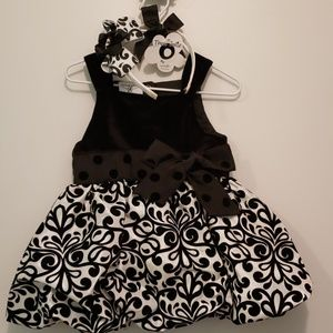 Tres Jolie by Mudpie Damask Party Dress